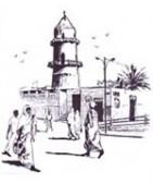 Côte des somalis lettres de Djibouti avec timbre-Tropiques-collections