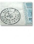 Soudan français lettres timbres oblitérations-tropiquescollections
